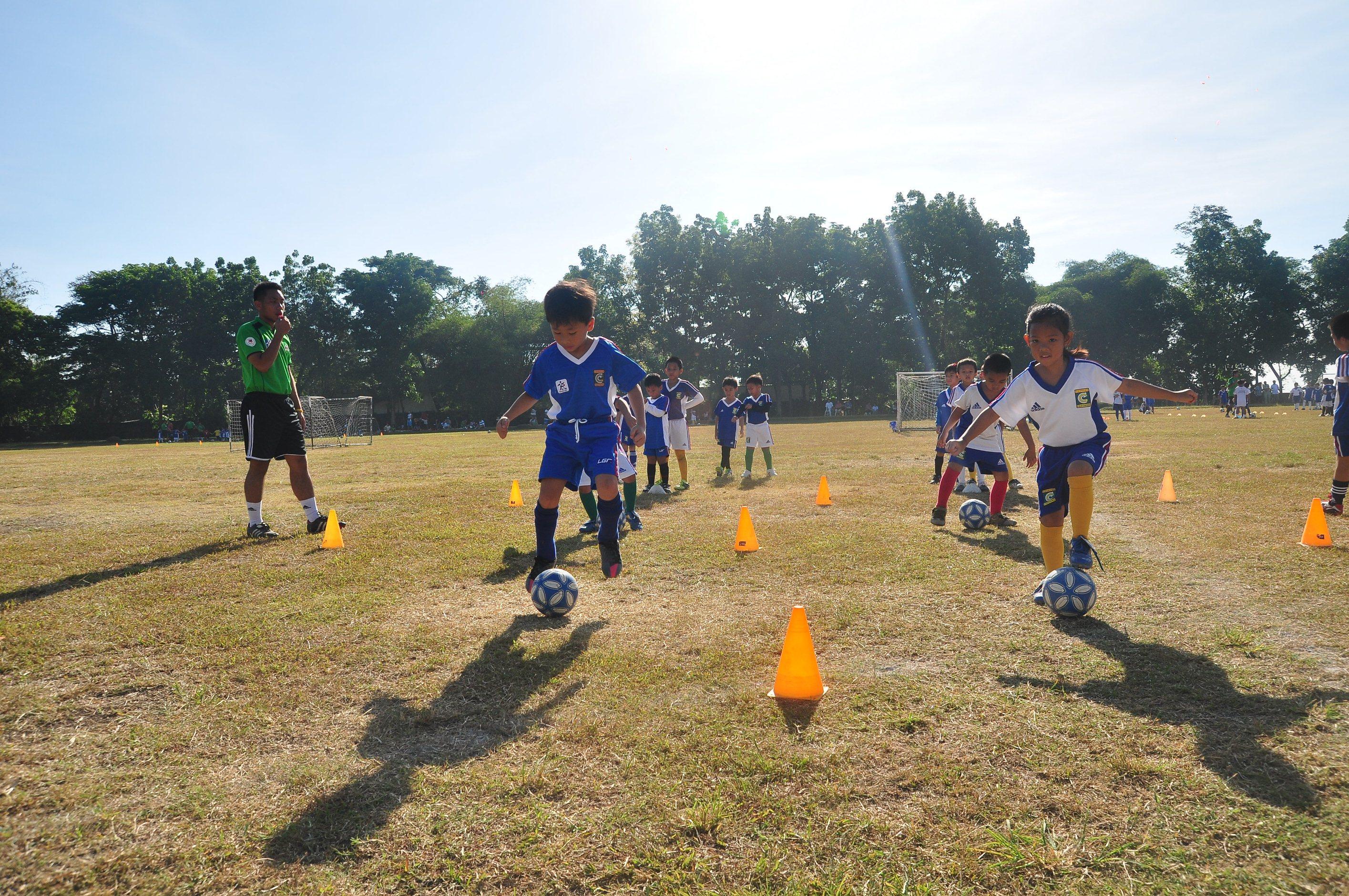 MILO summer sports football RFM