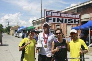 Ronnel Go's BDM102 finish 2011