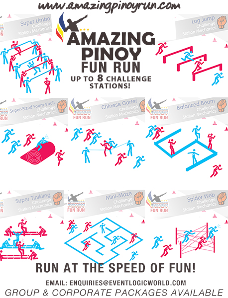 Amazing Pinoy Run - Challenge station - RFM